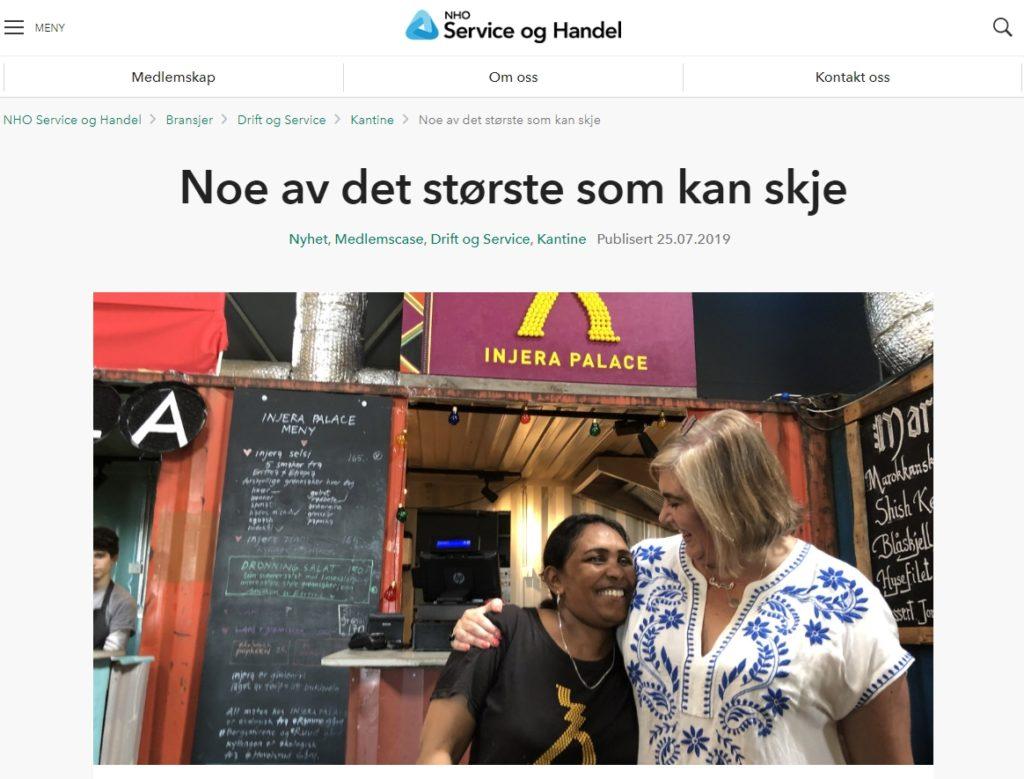 Genet Medhanei og Ragnhild Jennifer Sletner